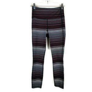 Athleta Striped High Rise Chaturanga Leggings XS